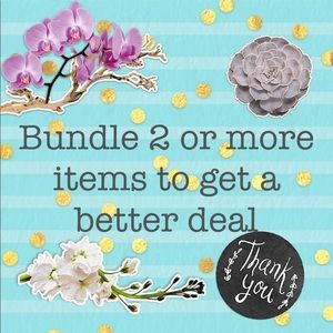 Bundle means 2 or more items ☺️